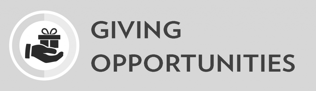 Giving opportunities.