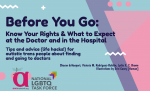 Before you go: Know Your Rights & What to Expect at the Doctor & in the Hospital