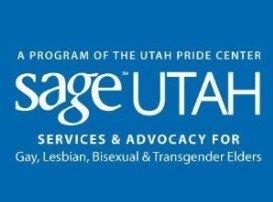 SAGE Utah, A Program of the Utah Pride Center. Services and advocacy for Gay, Lesbian, Bisexual, and Transgender Elders.