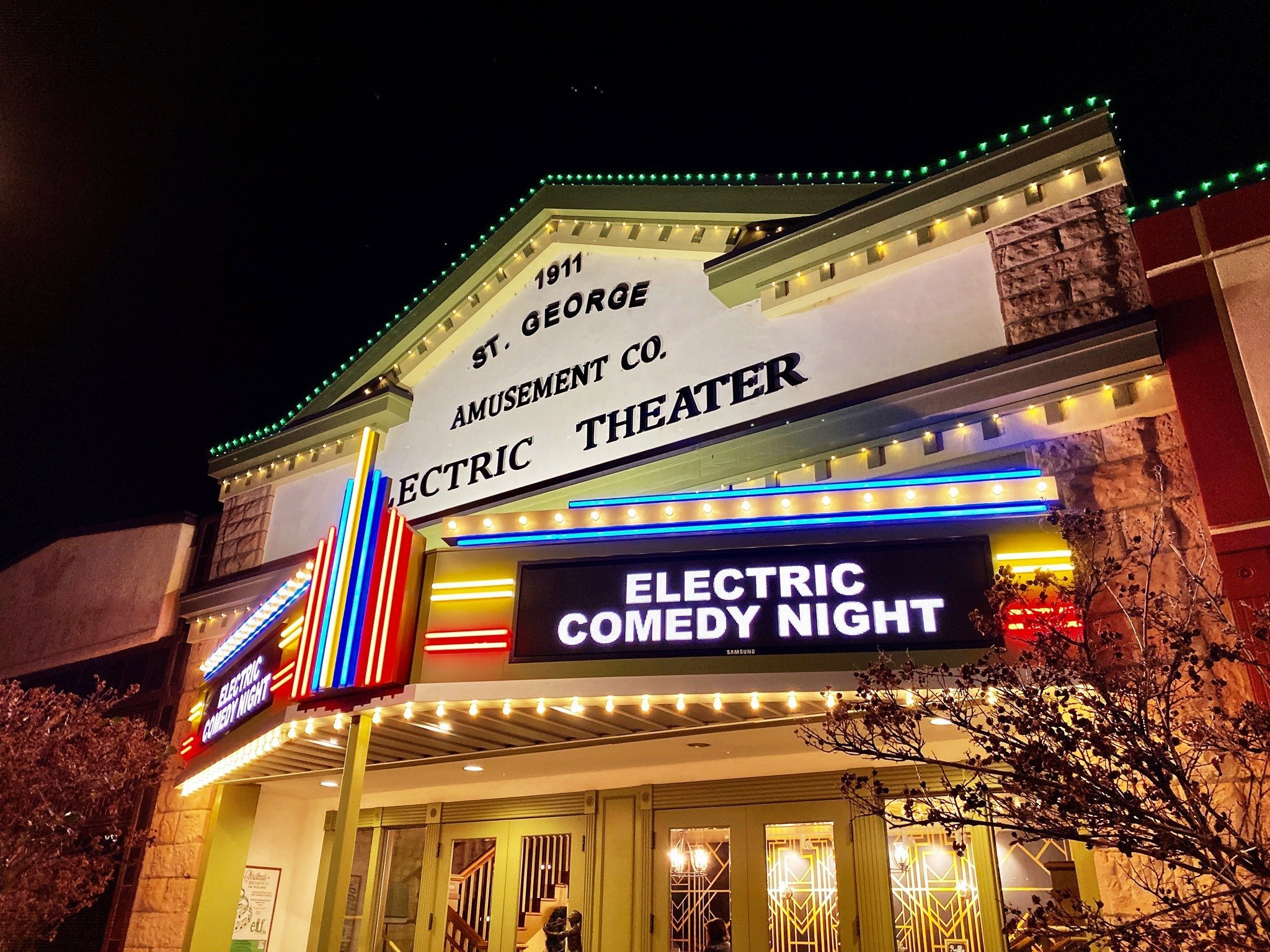 Electric Comedy Night