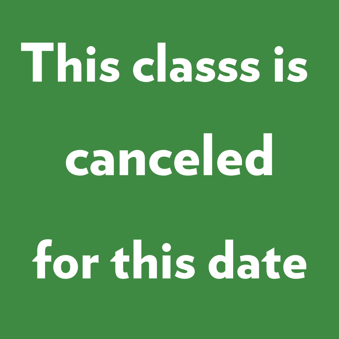 This class is canceled for this date