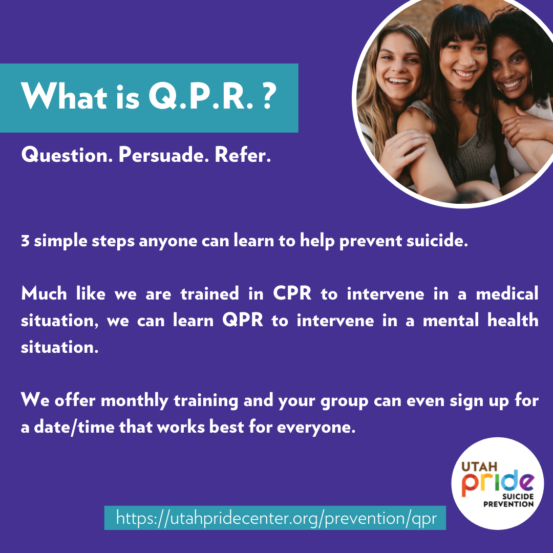 What is Q.P.R. Training